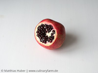 Granatapfelkerne auslösen, Schritt 2