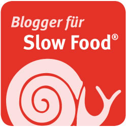 Button: Blogger für Slow Food