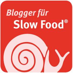 Button: Blogger für Slow Food