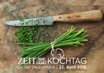 ZEIT Kochtag am 22.04.2016