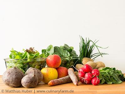Gemüse vom Kartoffelkombinat
