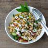 glutenfreie Nudeln aus Kichererbsen für veganen Nudelsalat