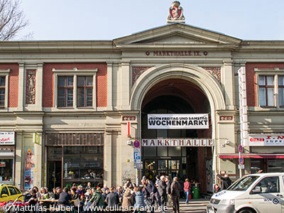 Markthalle Neun, Eingang Eisenbahnstraße 42/43