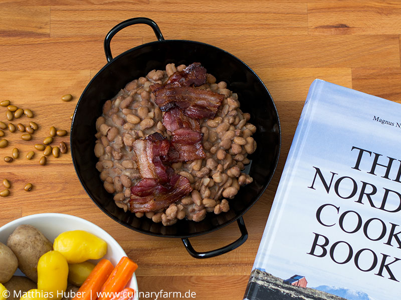 Foto Bruna bönor – schwedische braune Bohnen