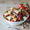sommerliche Vorspeise: Tomaten-Bohnen-Salat