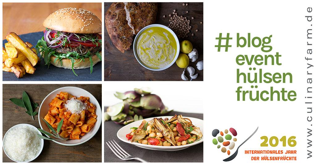 Blogevent Hülsenfrüchte Culinary Farm 2016