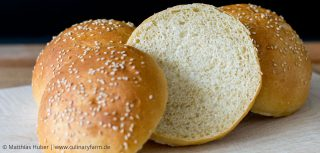 Brioche Burger Buns – selbstgebacken, weich, luftig und mit feinem Buttergeschmack