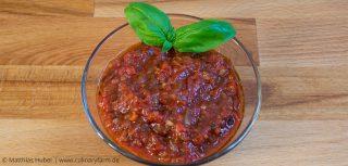 Tomatensauce für Pizza und Pasta