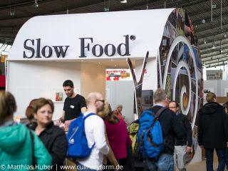große Messe in Stuttgart von Slow Food Deutschland