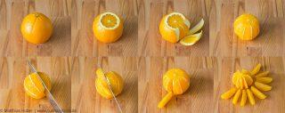 Schritt füre Schritt: Zitrusfrüchte filetieren